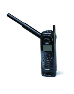 A satellite phone does not require cell towers